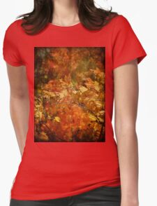 Colors of Autumn Womens Fitted T-Shirt