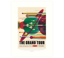 NASA - The Grand Tour Art Print