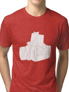 Medium Format Camera Tri-blend T-Shirt