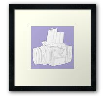 Medium Format Camera Framed Print