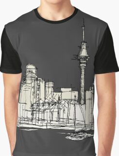 Auckland Silhouette Graphic T-Shirt