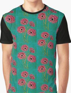 Pink Gerberas Graphic T-Shirt