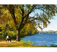 A Beautiful Indian Summer Day Photographic Print
