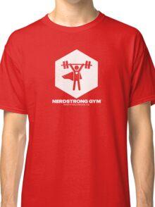 Nerdstrong Gym Logo Classic T-Shirt