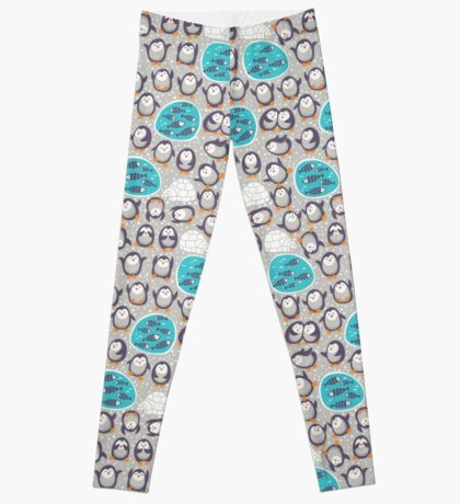 Winter penguins Leggings