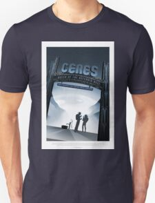NASA - Ceres Space Poster Unisex T-Shirt