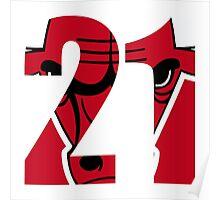 Jimmy Butler - Chicago Bulls 21 Poster
