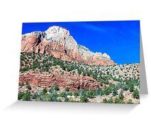Utah Mountains Greeting Card