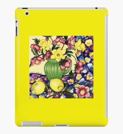 Winter Blooms iPad Case/Skin