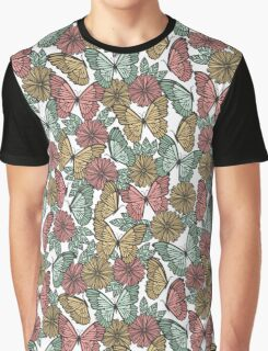 Butterfly FIelds Graphic T-Shirt