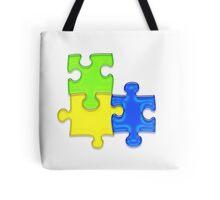 Puzzle Tote Bag
