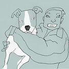 BFF - pitbull by Matt Mawson