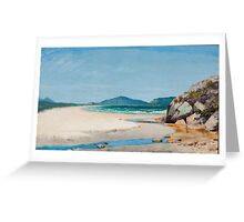 Seascape. Guaruja , Jose Ferraz de Almeida Junior Greeting Card