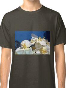 White plastic flowers. Classic T-Shirt