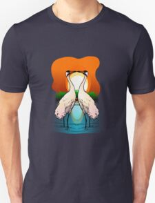 Valessiobrito two love whooping crane clip art Unisex T-Shirt