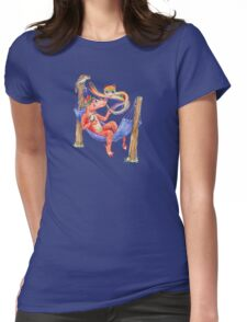 Baby Dragon Chilling with Friends Womens Fitted T-Shirt