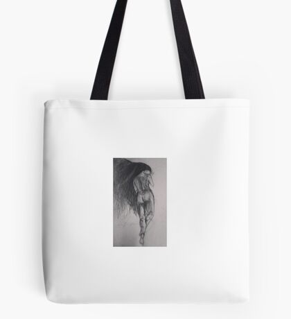 woman figure Tote Bag
