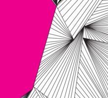 Colourfull geometric Design Sticker