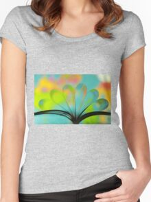 Book Women's Fitted Scoop T-Shirt