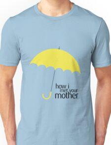 How I Met Your Mother (YELLOW UMBRELLA) Unisex T-Shirt