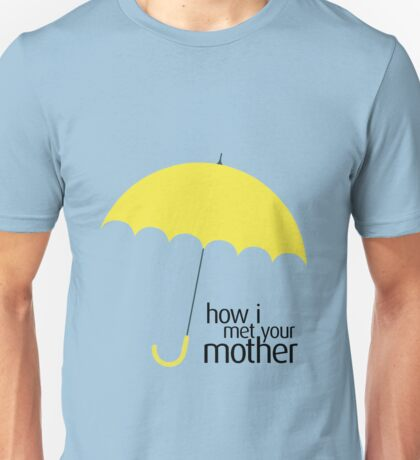 How I Met Your Mother (YELLOW UMBRELLA) Unisex T-Shirt