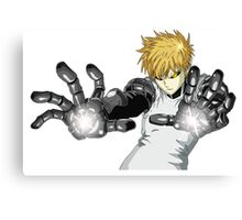 one punch man Canvas Print