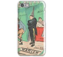 Sheet music Le pitre by Jean Soleil and Harlem, performed by Mévisto Henri Gabriel Ibels  iPhone Case/Skin