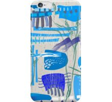 Chaotic  Mid-Century Abstract iPhone Case/Skin