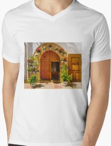 All around the doorway Mens V-Neck T-Shirt