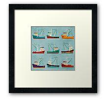 Fishing Trawlers Framed Print