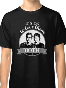 TVD. It's OK to love them both. Classic T-Shirt