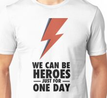 David Bowie (HEROES) Unisex T-Shirt
