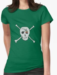 Fly the flag! Womens Fitted T-Shirt