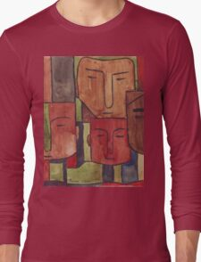 Faces of Africa - Ethnic series Long Sleeve T-Shirt