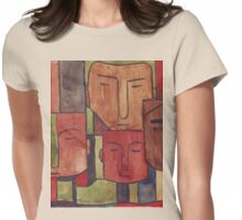 Faces of Africa - Ethnic series Womens Fitted T-Shirt
