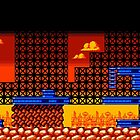 Tileset: Orange and Blue by Dimmers
