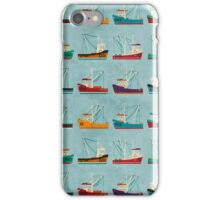 Fishing Trawlers iPhone Case/Skin