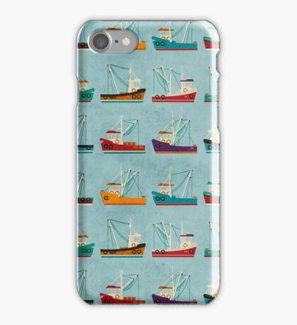 Fishing Trawlers iPhone Case/Skin