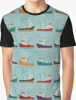 Fishing Trawlers Graphic T-Shirt