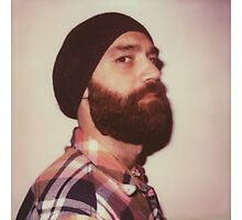 Portrait of a bearded man Photographic Print