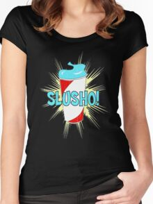 Slusho! Women's Fitted Scoop T-Shirt