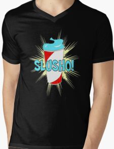 Slusho! Mens V-Neck T-Shirt