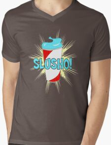 Slusho! Mens V-Neck T-Shirt