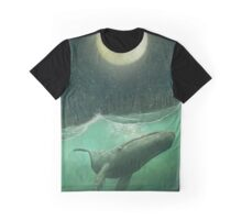 The Whale & The Moon Graphic T-Shirt