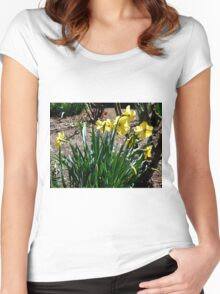 Bendigo Daffodils Women's Fitted Scoop T-Shirt