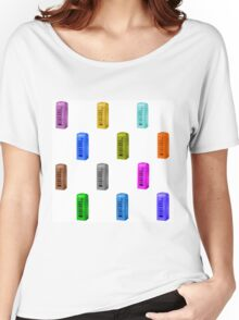 rainbow phone booth Women's Relaxed Fit T-Shirt