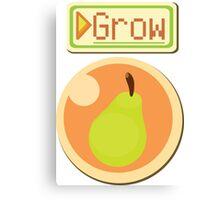 Grow a Pear Canvas Print