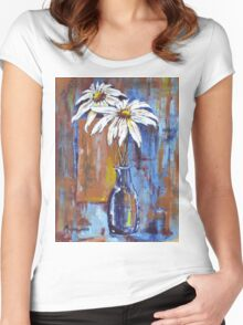 Two Daisies Women's Fitted Scoop T-Shirt