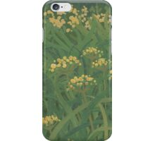 Yellow Hedgerow iPhone Case/Skin