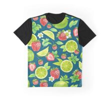 Strawberry and lime Graphic T-Shirt